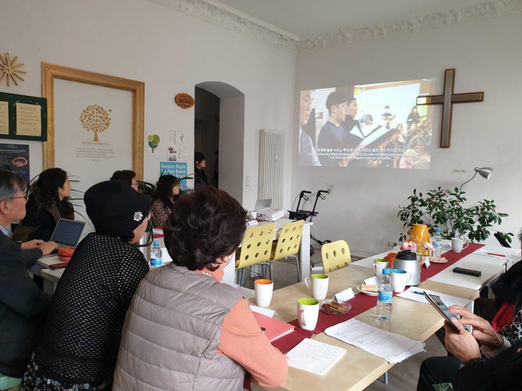 한국 국제보건의료재단 방문