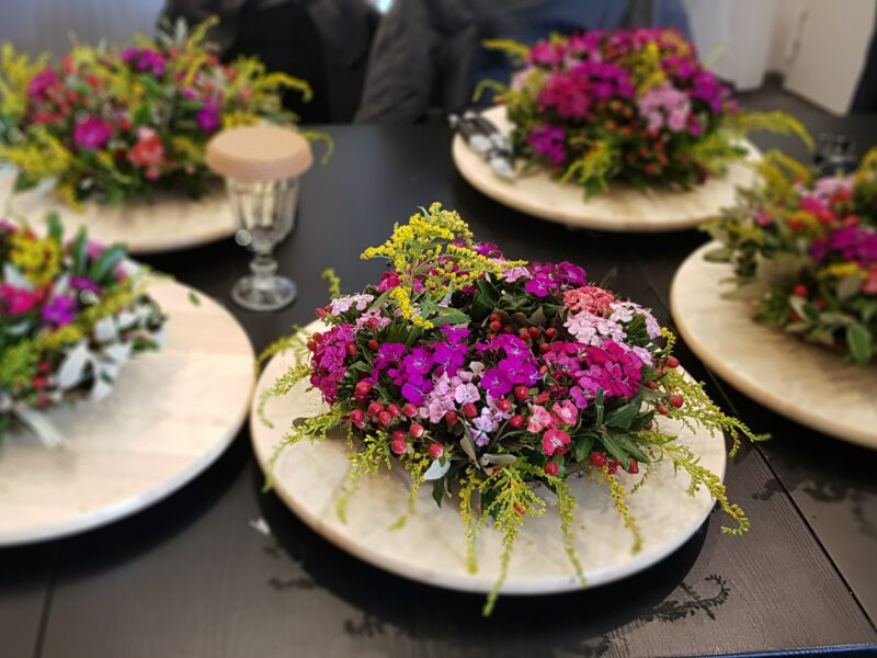 36회 장례 꽃장식을 배우는 시간